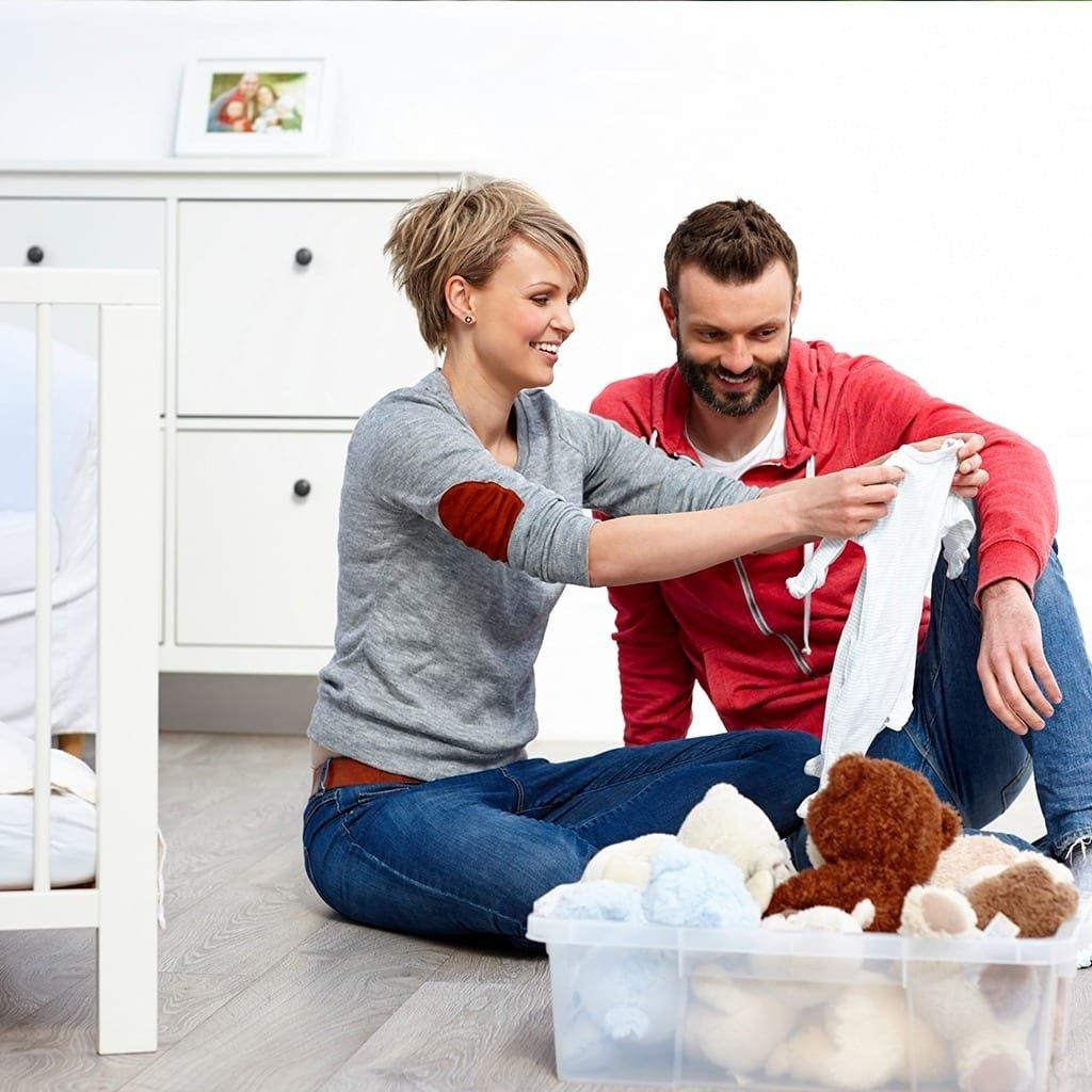 Arrumando a casa para a chegada do segundo filho